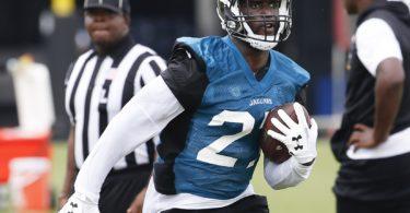 Jacksonville Jaguars rookie running back Leonard Fournette