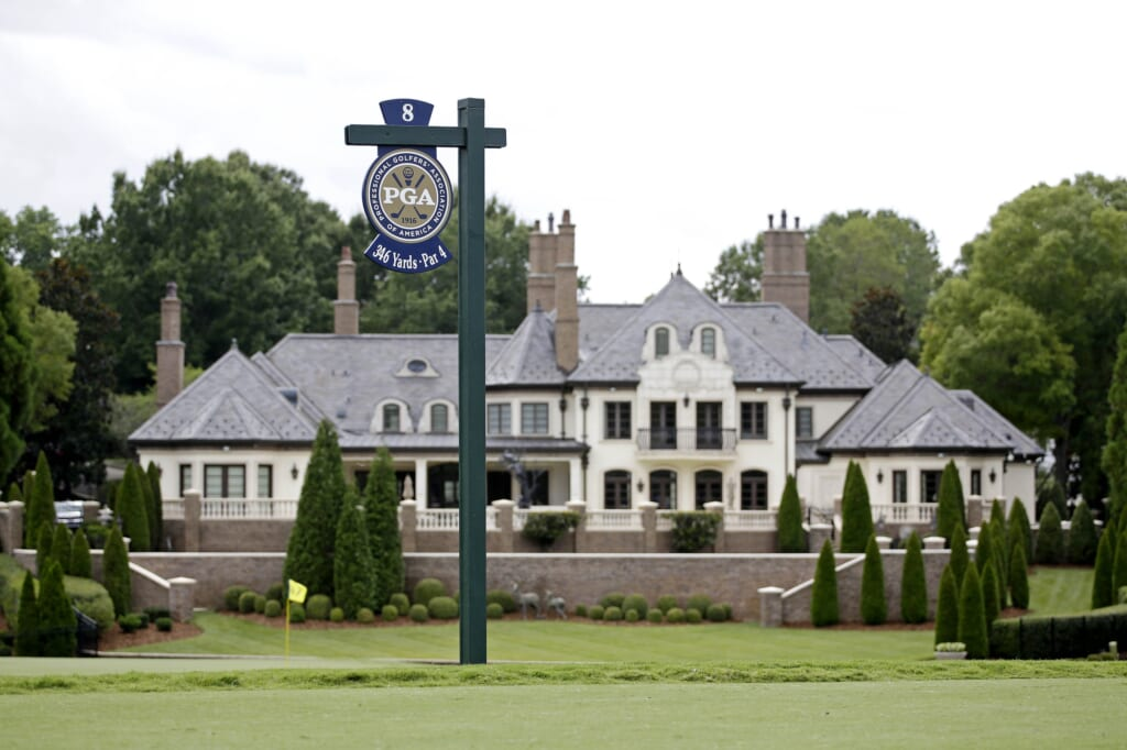 Quail Hollow is the venue for the 2017 PGA Championship