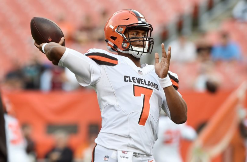 Cleveland Browns name DeShone Kizer starting QB