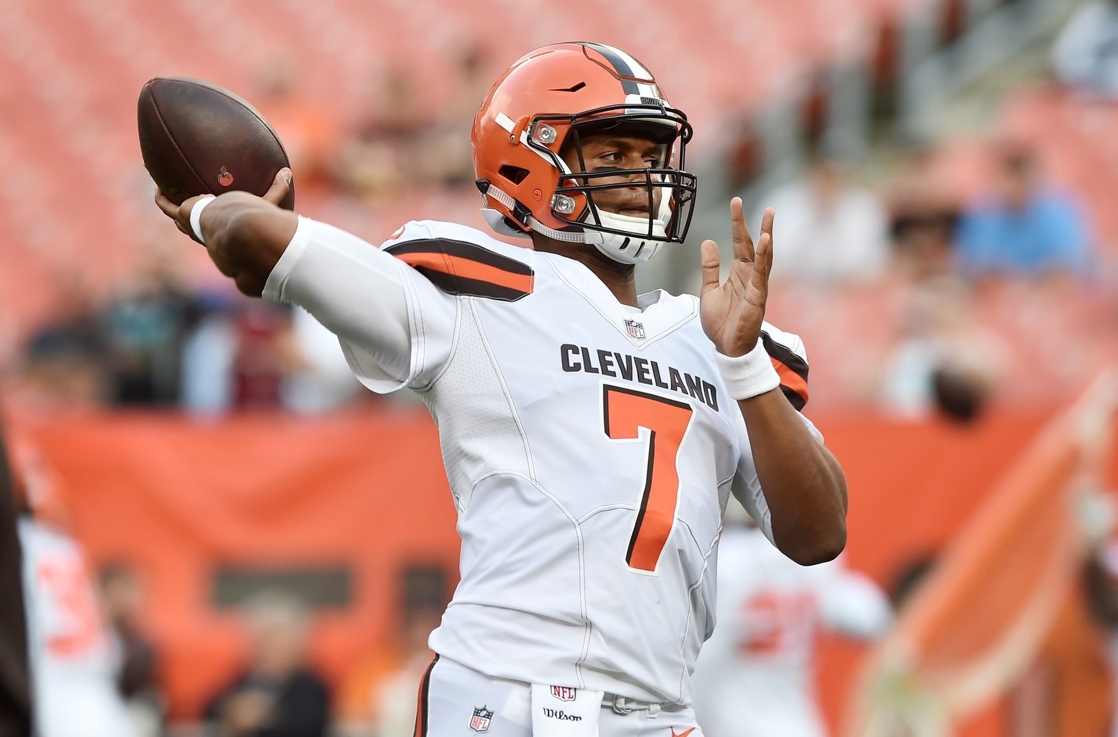 Browns QB DeShone Kizer looked the part in his NFL debut.