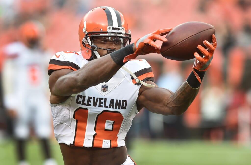Cleveland Browns receiver Kenny Britt
