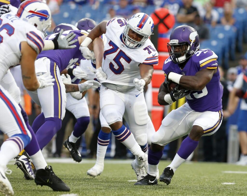 Minnesota Vikings running back Dalvin Cook during NFL preseason