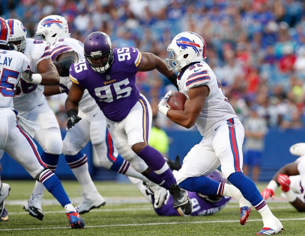 Minnesota Vikings defensive end Datone Jones