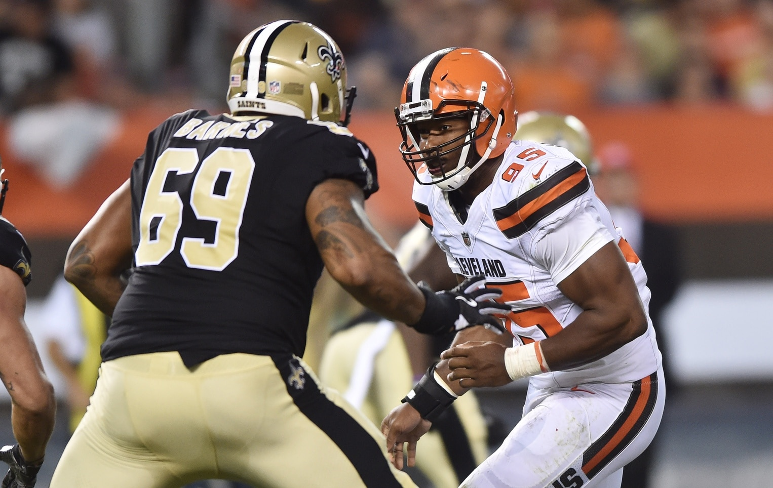 Myles Garrett should help the Browns' defense big time as a rookie.