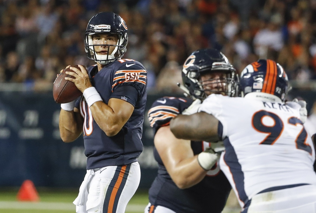 Can Mitchell Trubisky now win Bears starting QB job? NFL preseason Week 1