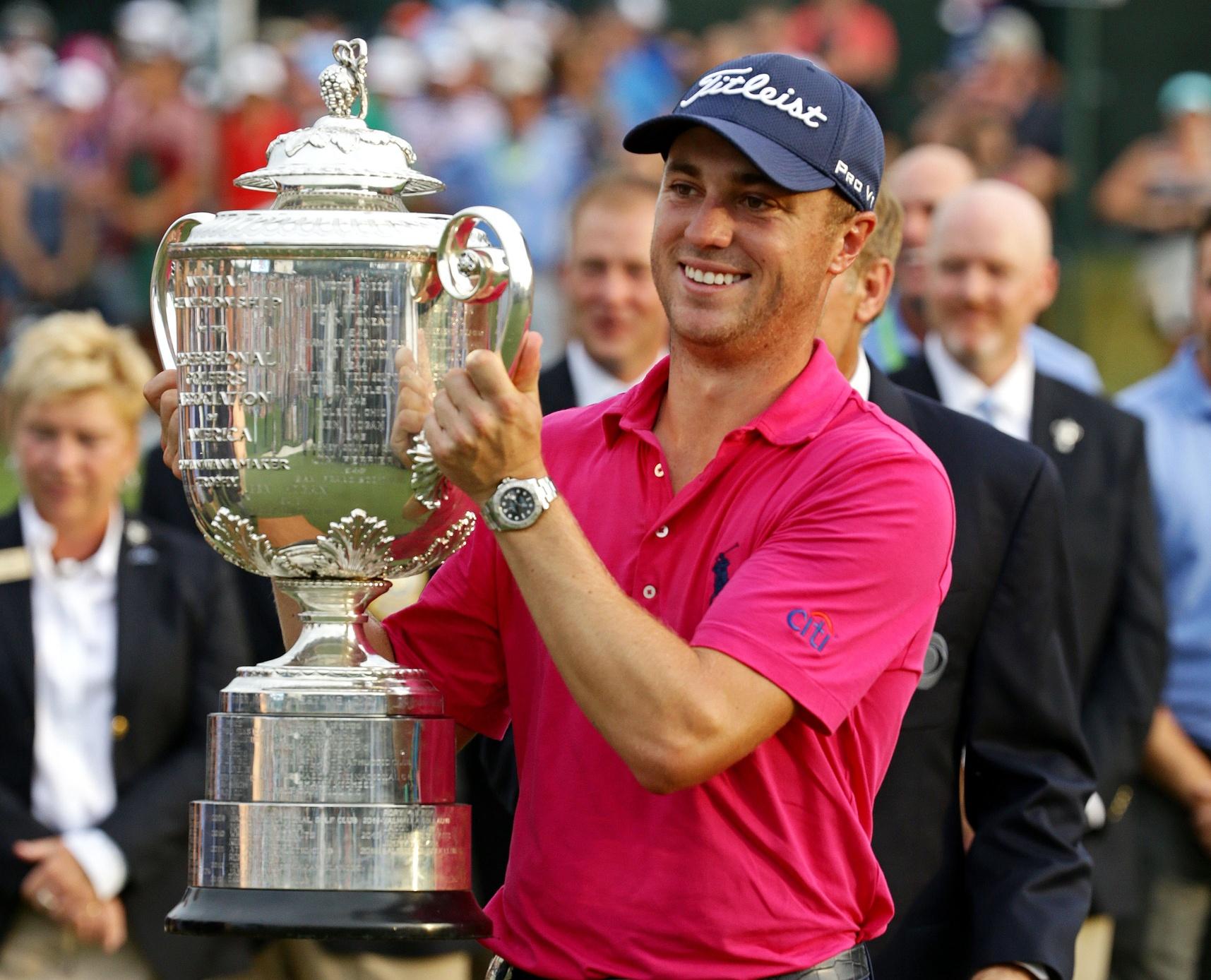 Justin Thomas wins the 2017 PGA Championship