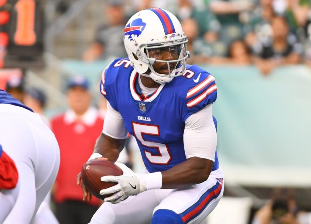 Buffalo Bills quarterback Tyrod Taylor