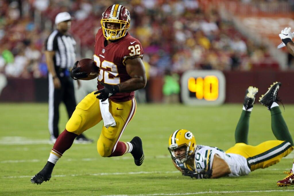 Washington Redskins running back Samaje Perine