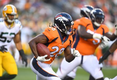 Denver Broncos running back Jamaal Charles during NFL preseason Week 3