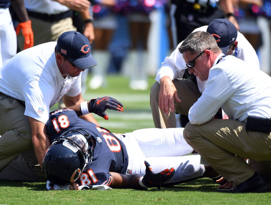 Chicago Bears receiver Cameron Meredith