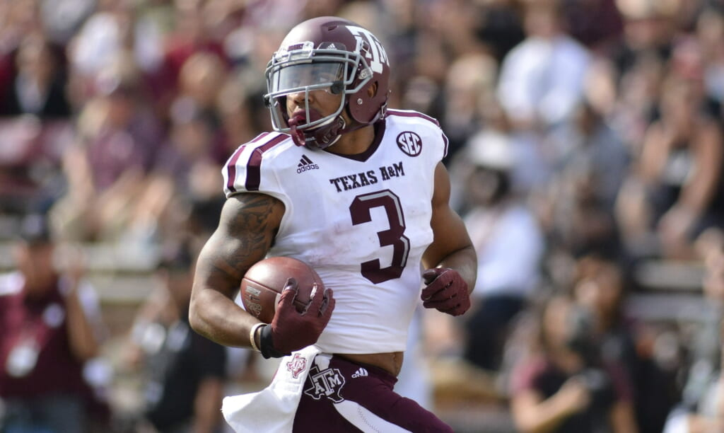 Texas A&M receiver Christian Kirk