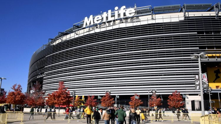 MetLife Stadium home of the New York Jets and New York Giants