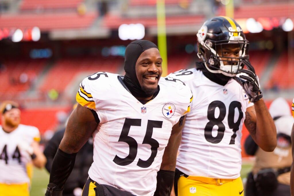 Pittsburgh Steelers linebacker Arthur Moats
