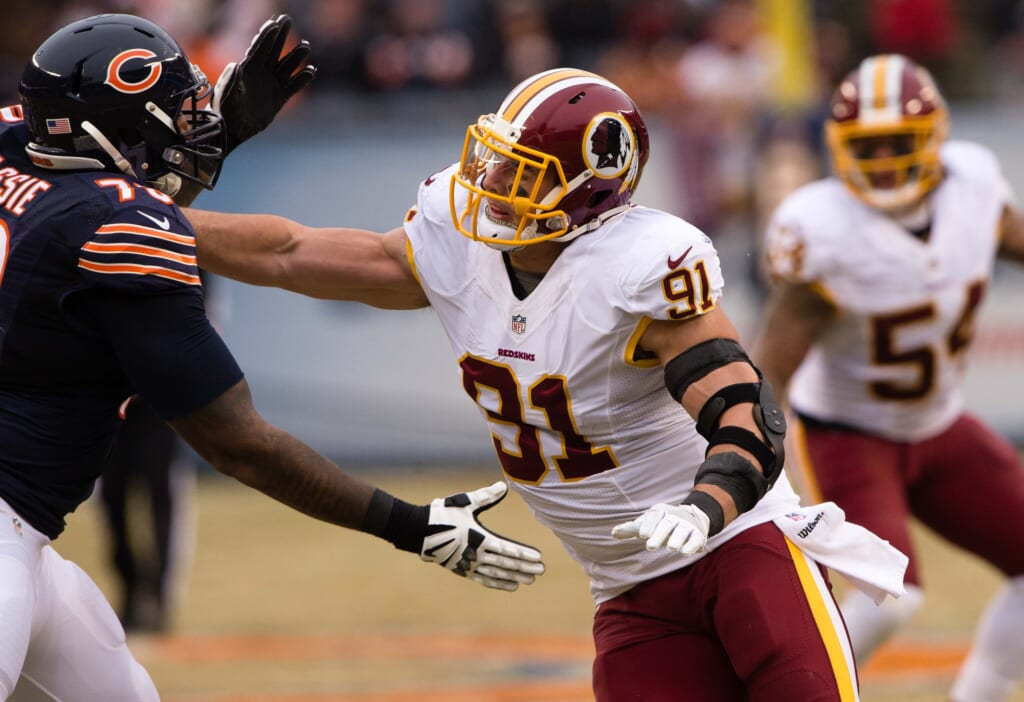 Washington Redskins linebacker Ryan Kerrigan is one of the most underrated players in the NFL