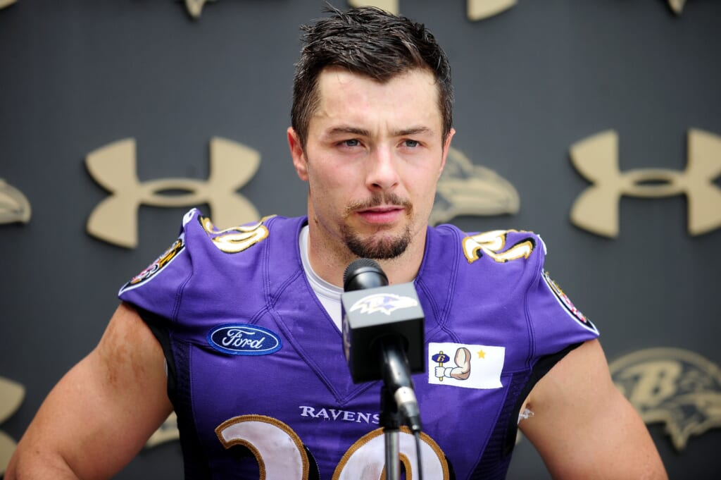 Ravens Place Rb Danny Woodhead On Injured Reserve