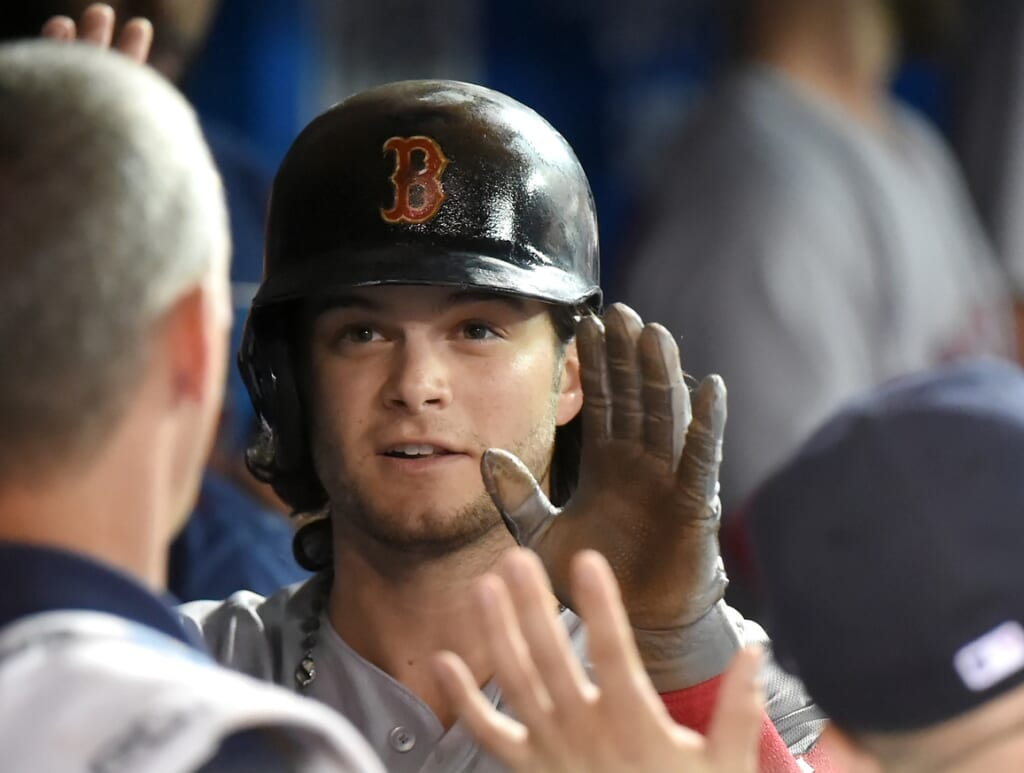 Andrew Benintendi Is a very important cog for the Red Sox.