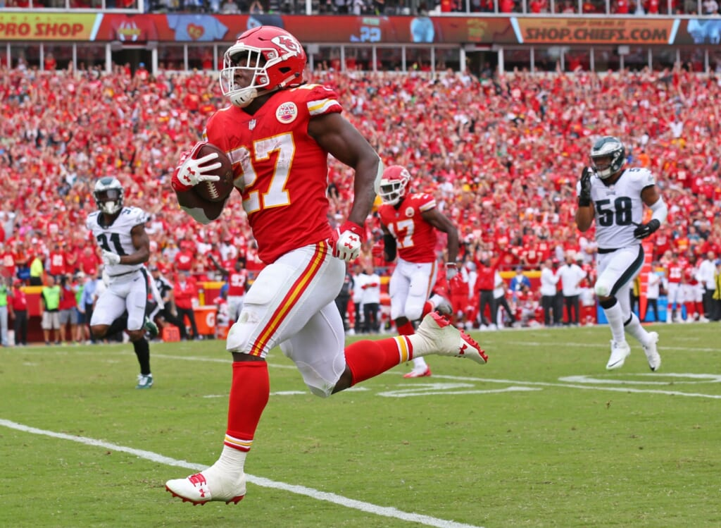Kareem Hunt continues to dominate early in his NFL career.