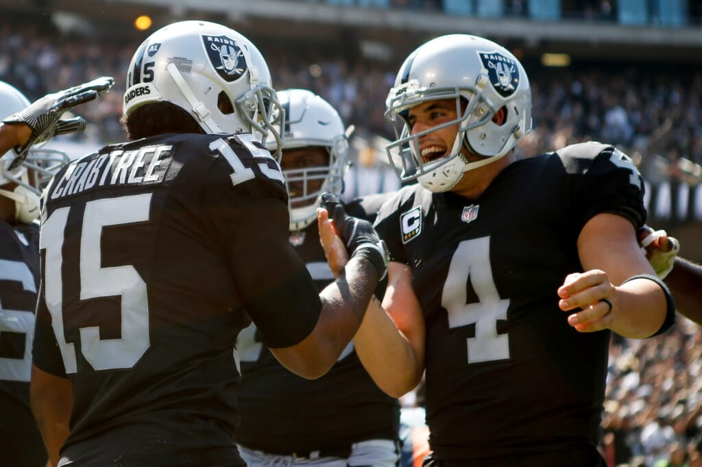 Derek Carr and the Raiders are hot.