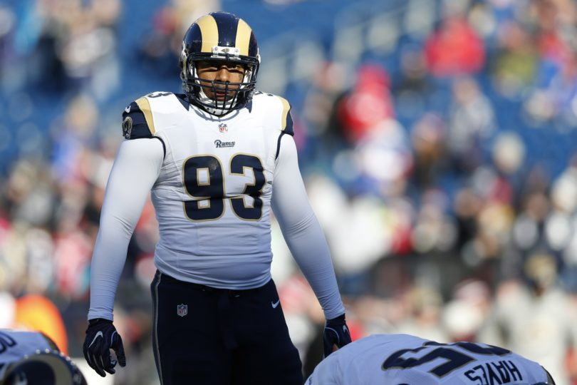 Rams defensive end Ethan Westbrooks arrested on felony gun charges