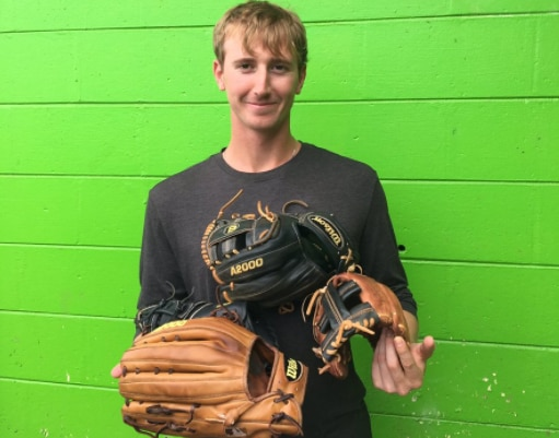 Tortugas outfielder Blake Butler played all nine positions Sunday