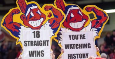 Cleveland Indians 18 game winning streak