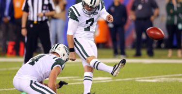 New York Jets kicker Chandler Catanzaro