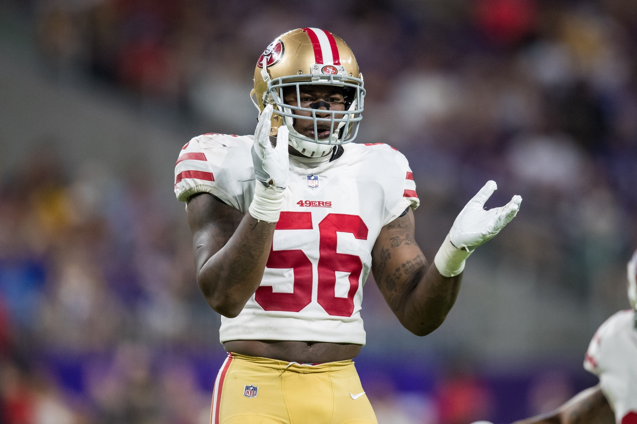 49ers Rookie Lb Reuben Foster Reportedly Suffers High
