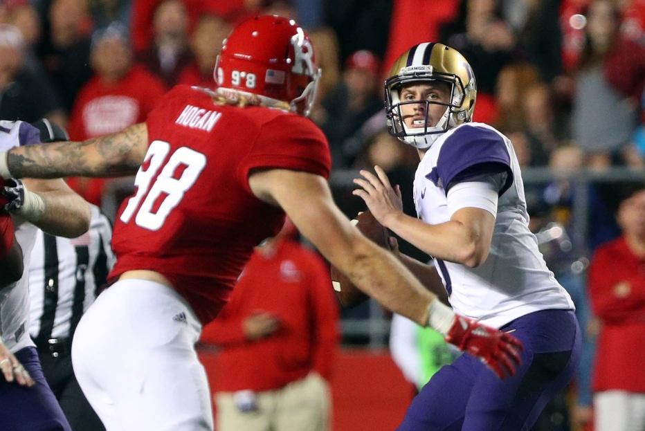 Washington quarterback Jake Browning