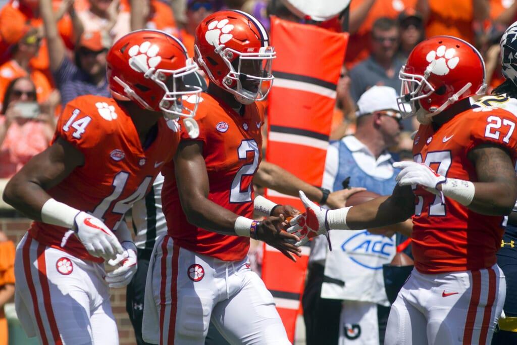 Clemson quarterback Kelly Bryant