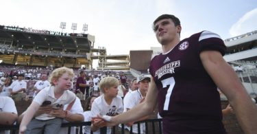 Mississippi State quarterback Nick Fitzgerald was one of the unsung heroes of college football in Week 3