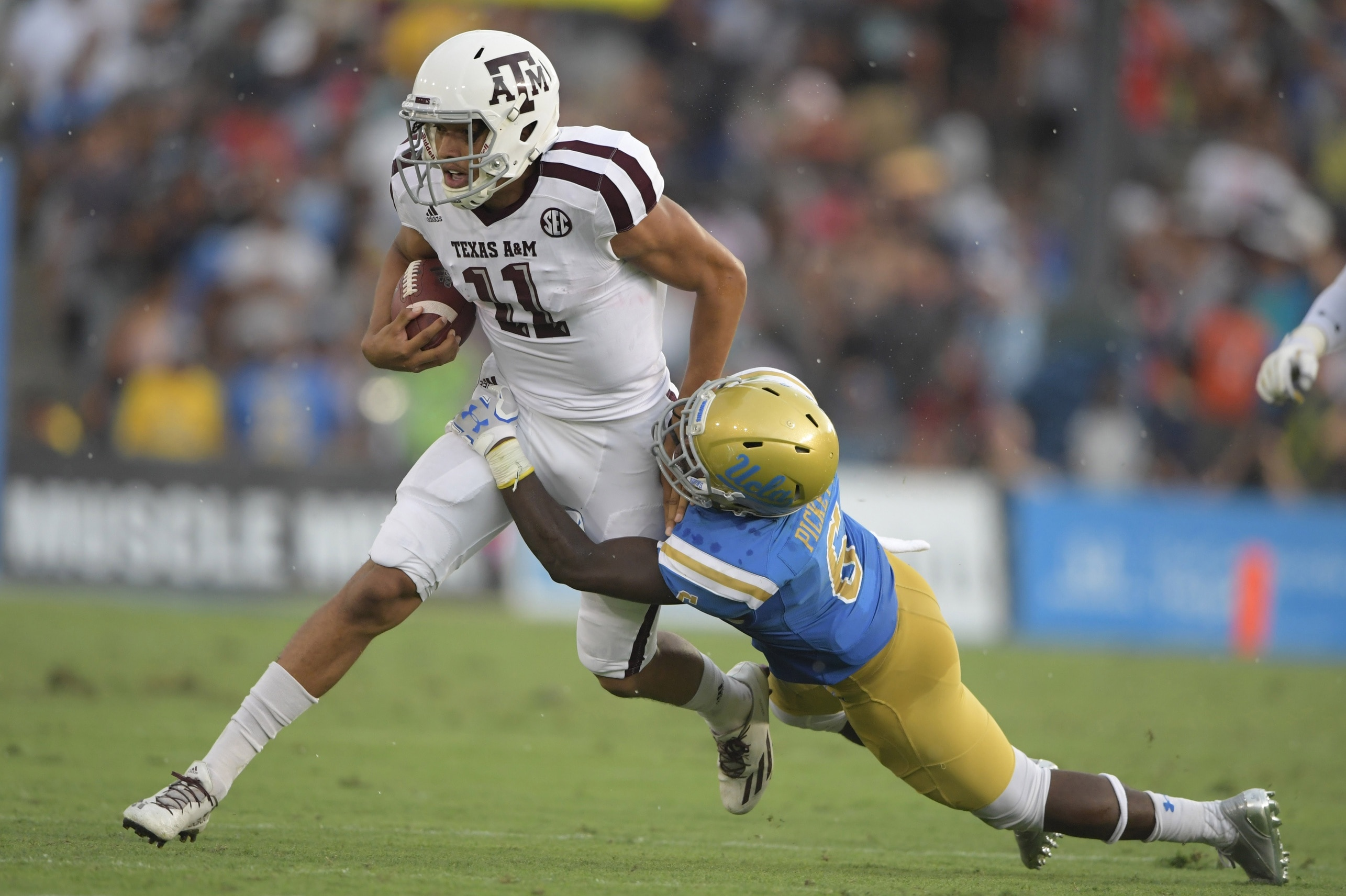 UCLA defense was awful against Texas A&M