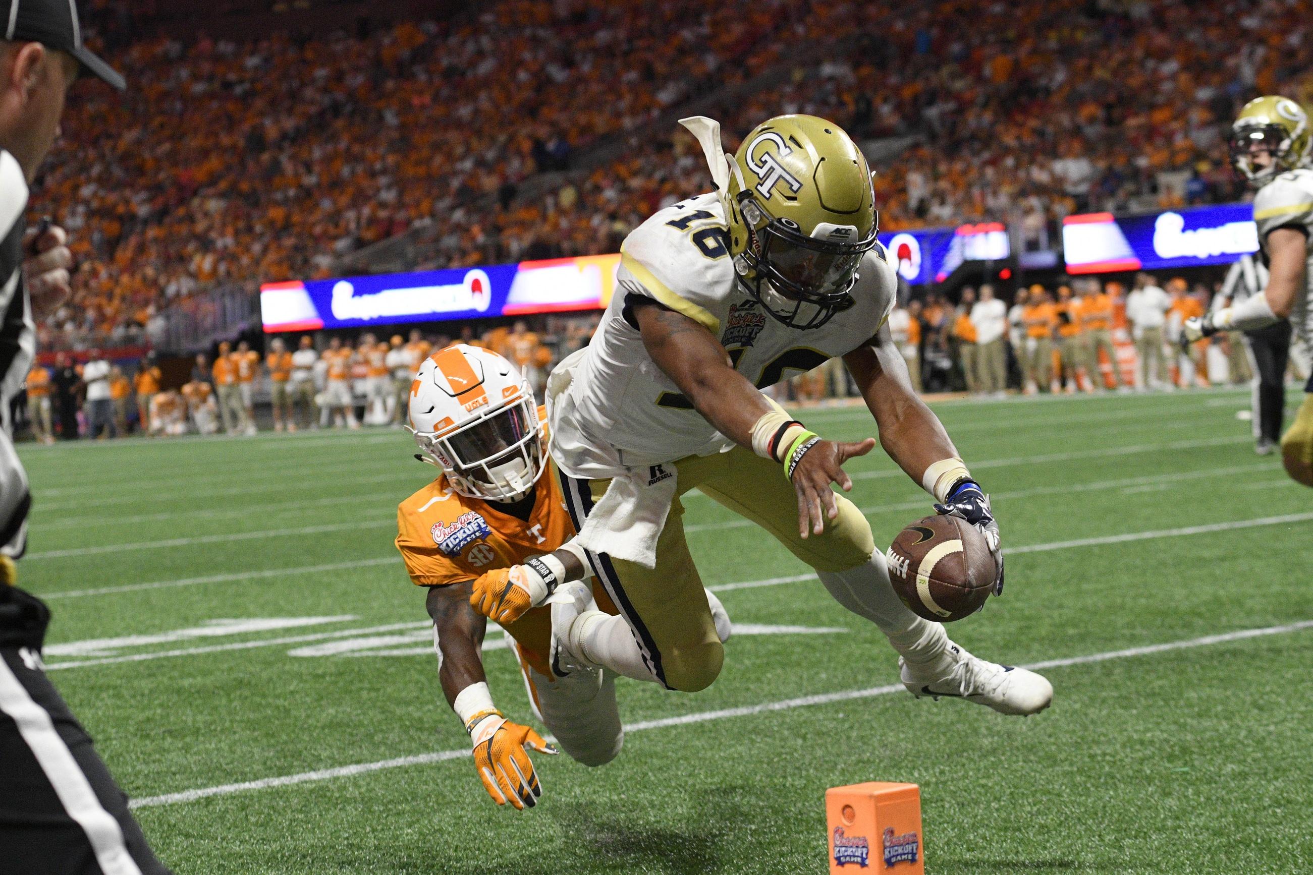 Georgia Tech quarterback TaQuon Marshall