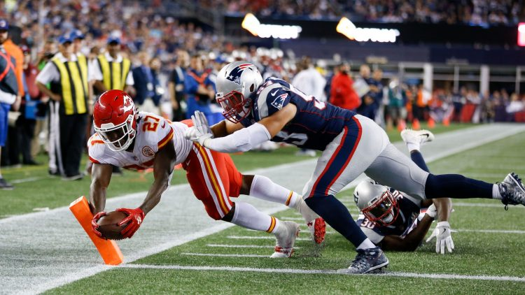 Kareem Hunt and the Chiefs were on fire, but NFL ratings are not