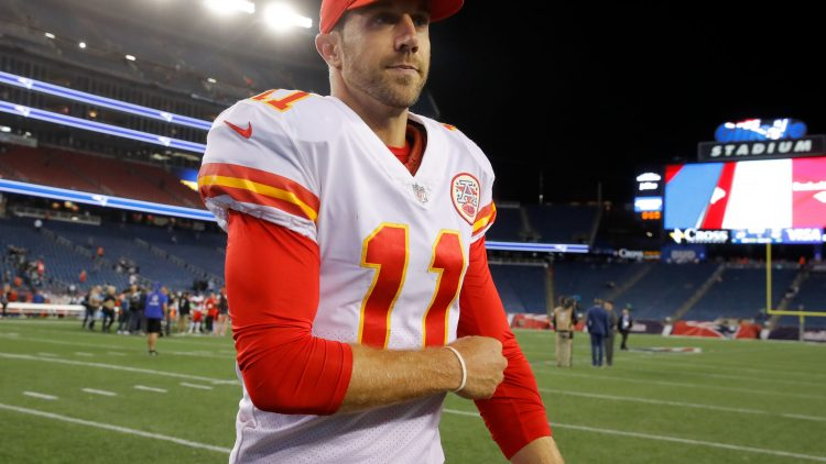Chiefs quarterback Alex Smith after Week 1 win over Patriots