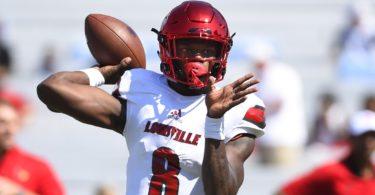Louisville quarterback Lamar Jackson