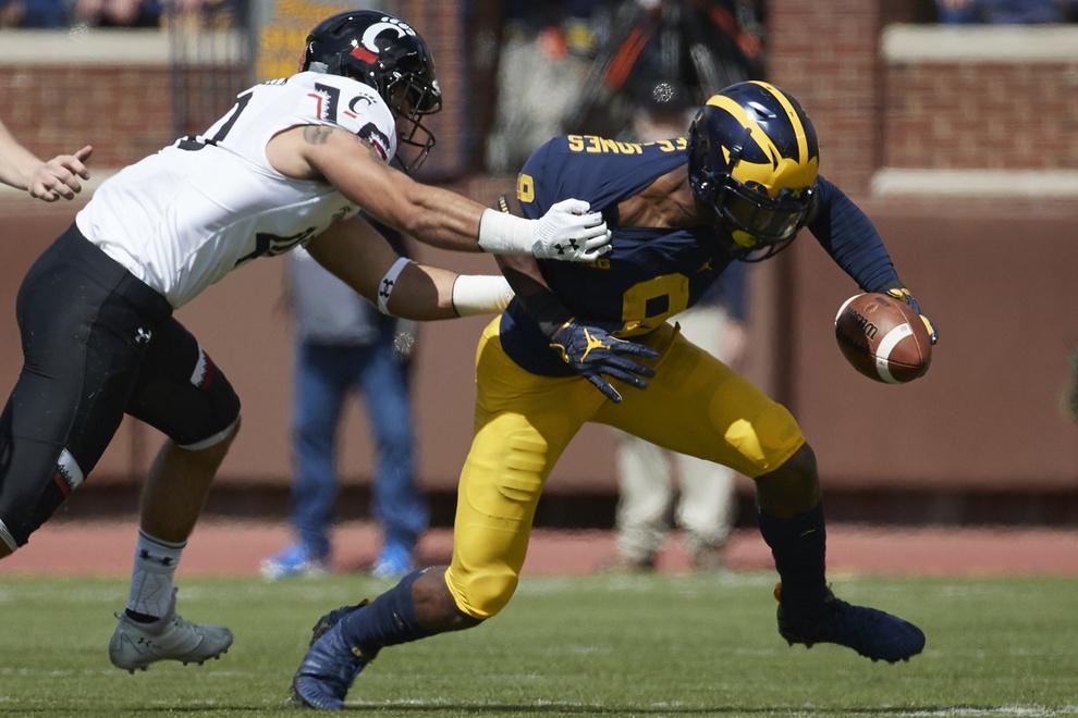 Michigan receiver Donovan Peoples-Smith