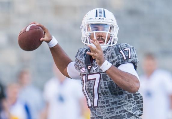 Virginia Tech quarterback Josh Jackson