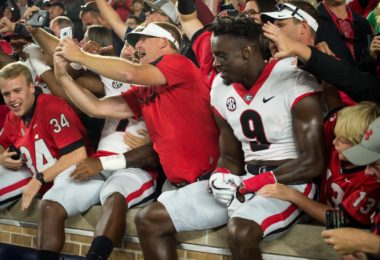 The Georgia Bulldogs pulled off one of the biggest college football upsets in Week 2