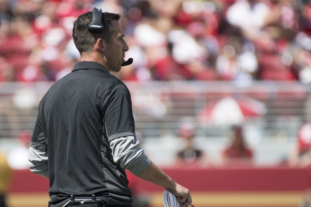 Kyle Shanahan's 49ers coaching debut was brutal.