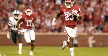 Oklahoma Sooners running back Abdul Adams