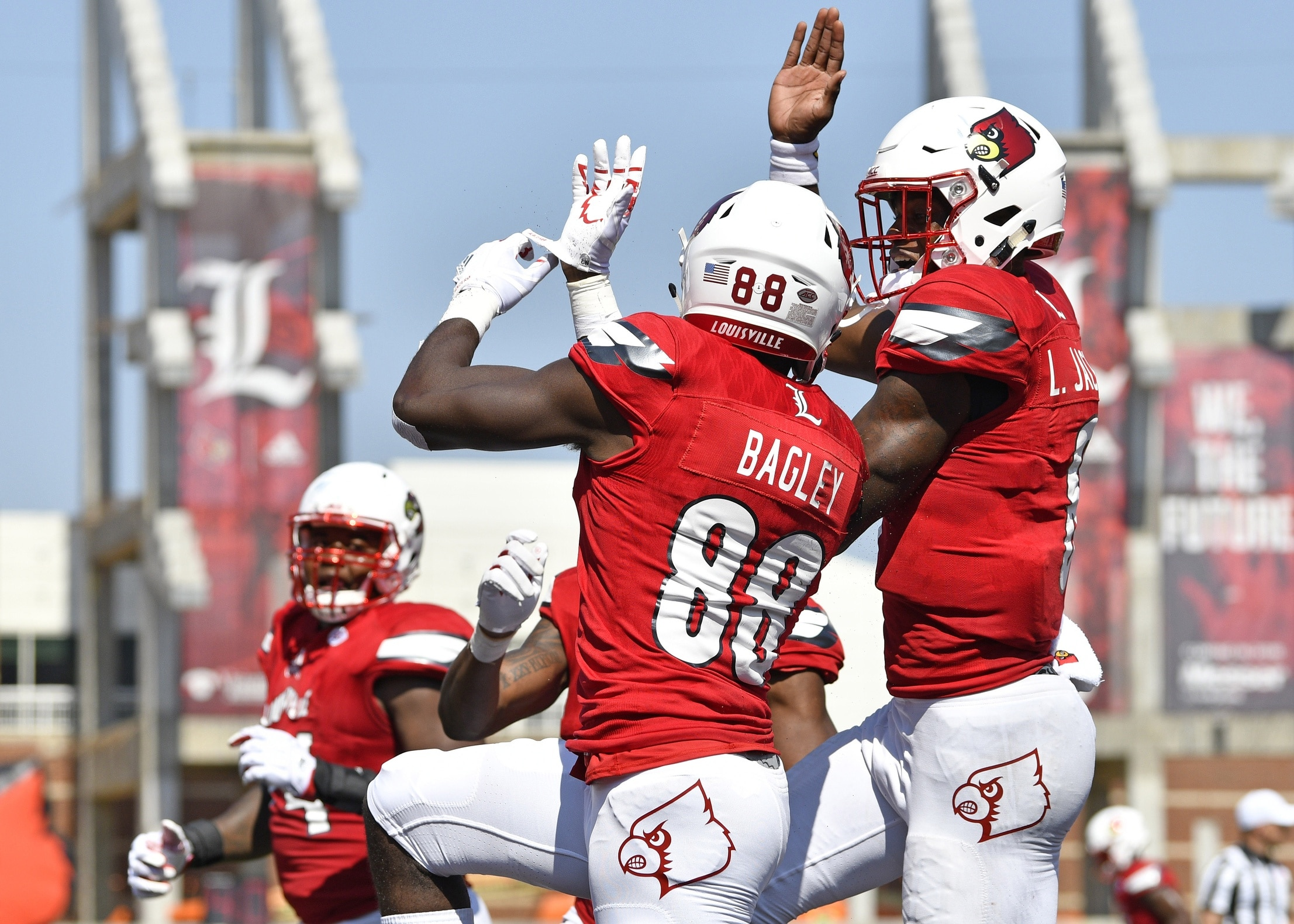 1ea2828f5eb Lamar Jackson and the Louisville Cardinals lead off College Football Week 6  against NC State