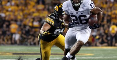 Penn State running back Saquon Barkley against Iowa in college football Week 4