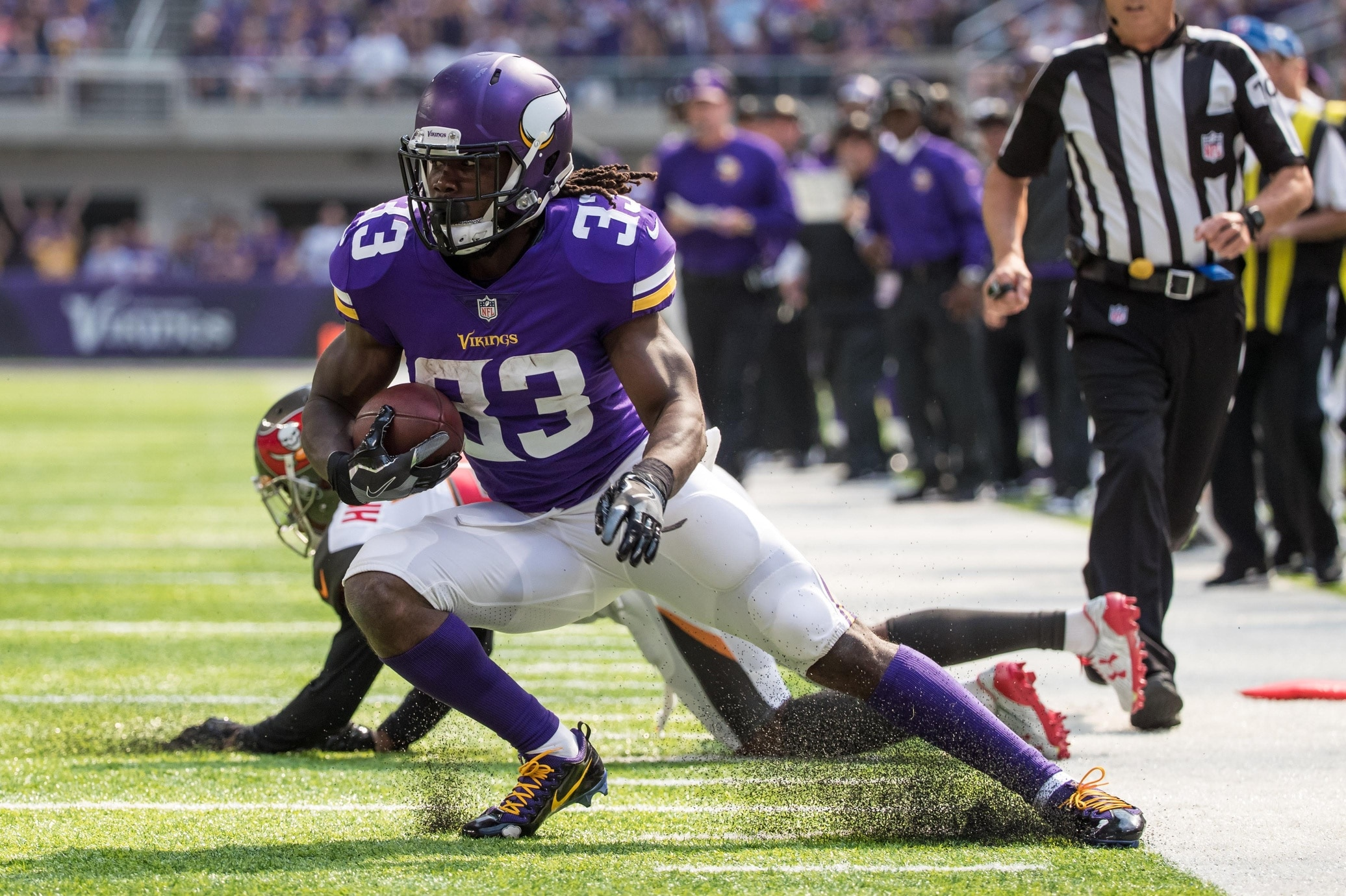 Mike Zimmer Vikings Concerned Dalvin Cook Tore Acl
