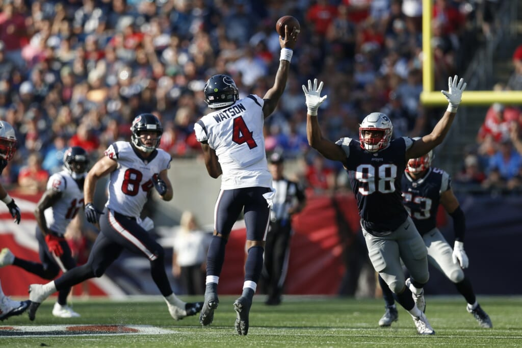 Houston Texans quarterback Deshaun Watson in NFL Week 3