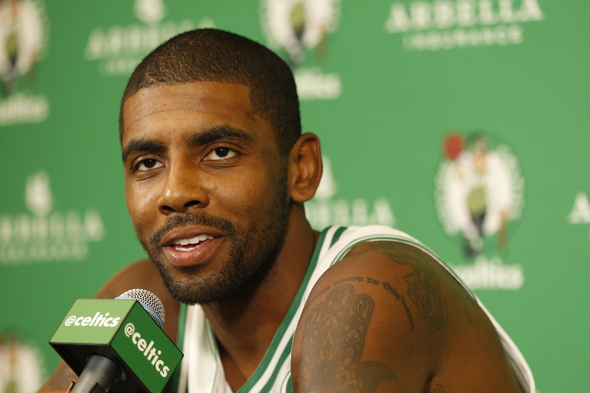 23ac29a83be Kyrie finally got his wish. After existing behind LeBron James  shadow in  Cleveland over the past three seasons