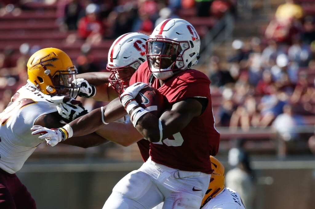 Stanford running back Bryce Love in college football Week 5 against Arizona State