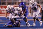 Boise State defensive lineman David Moa