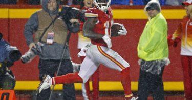 NFL Week 2 Tyreek Hill Kansas City Chiefs