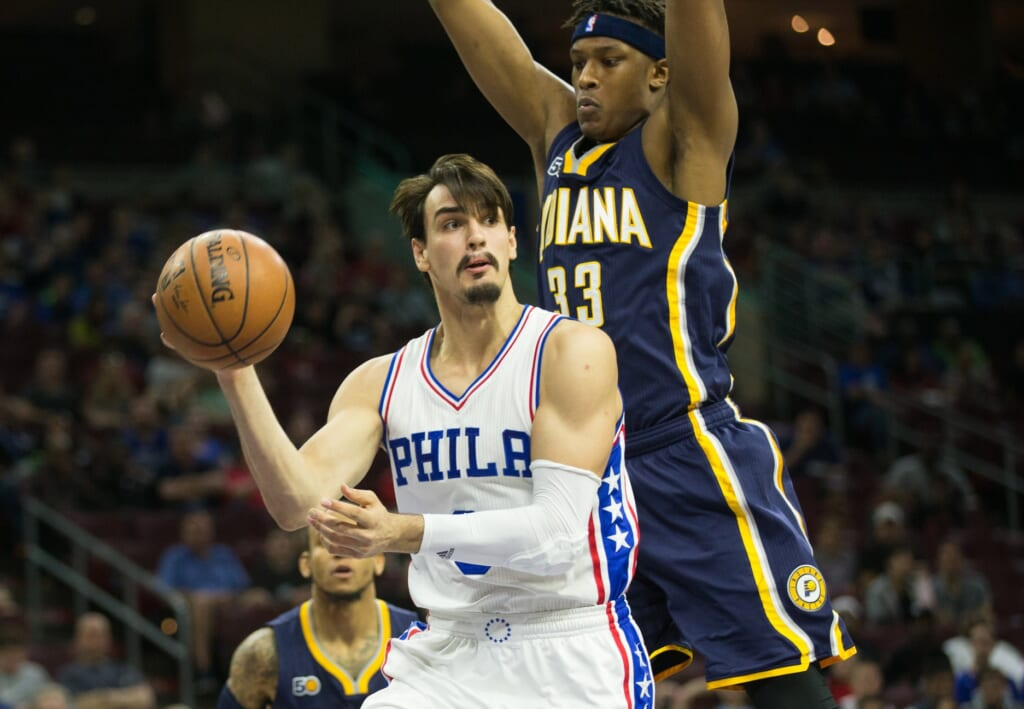 Don't sleep on Dario Saric for the SIxers.