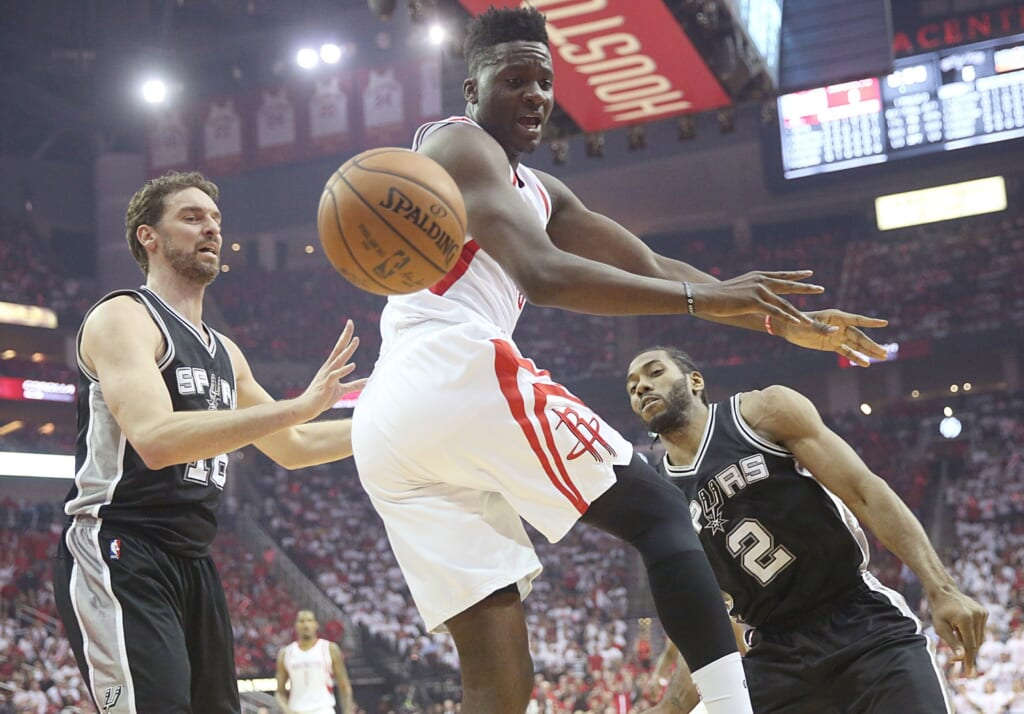 Clint Capela could morph into a top-end center.
